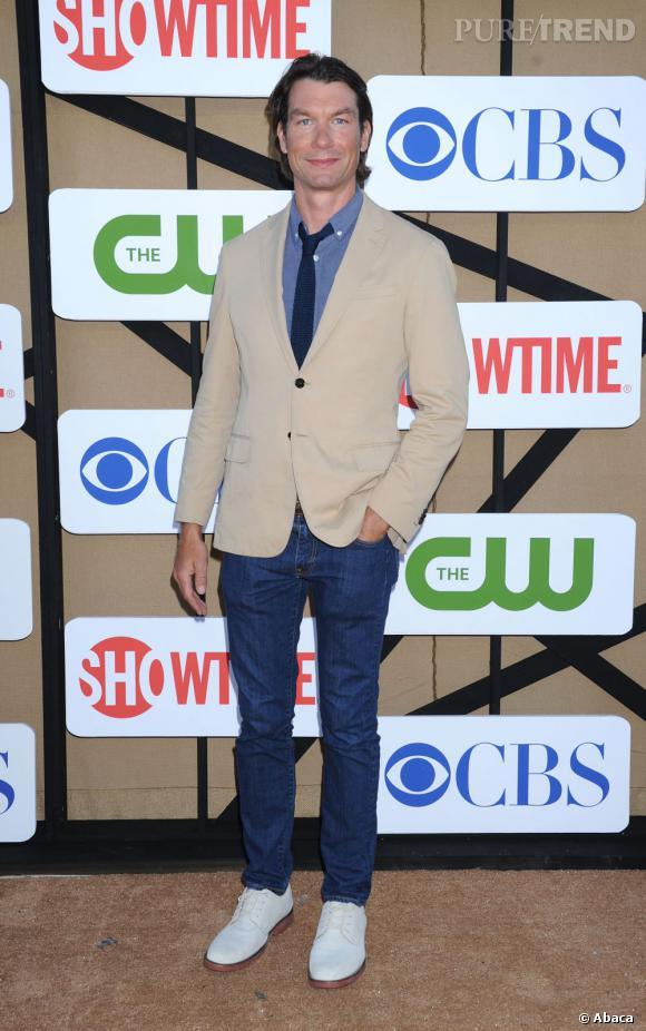 """Jerry O'Connell de la future série """"We Are Men"""" prévue sur CBS, à la soirée d'été CW, CBS et Showtime pour la Television Critics Association."""