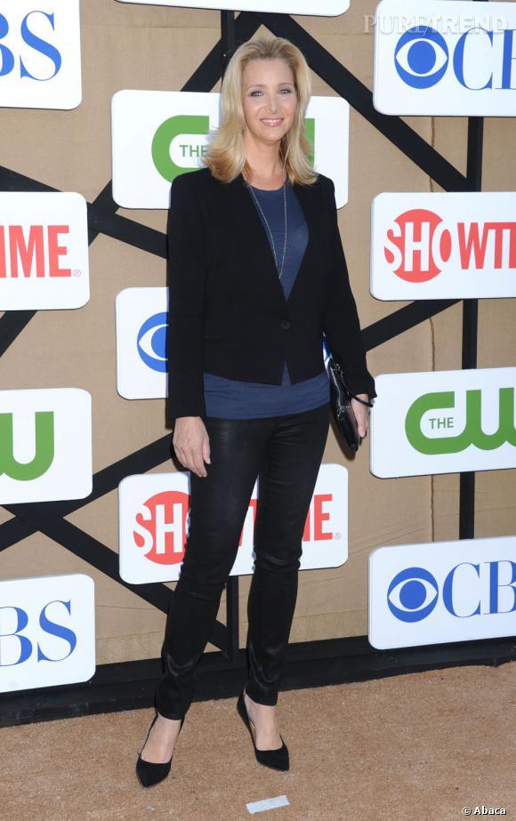 """Lisa Kudrow pour """"Web Therapy"""" à la soirée d'été CW, CBS et Showtime pour la Television Critics Association."""