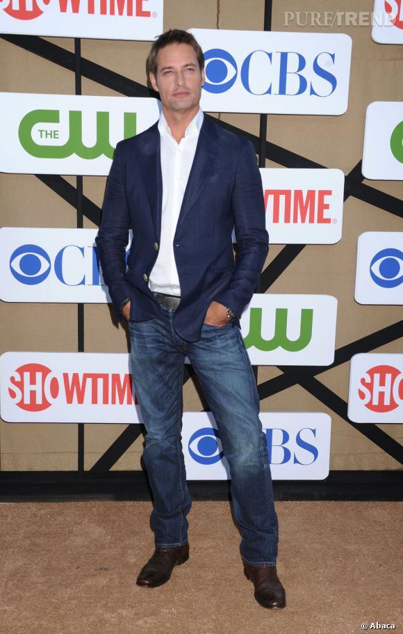"""Josh Holloway pour """"Intelligence"""", à la soirée d'été CW, CBS et Showtime pour la Television Critics Association."""