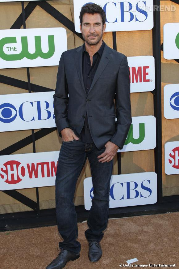 """Dylan McDermott de la série très attendue """"Hostages"""" à la soirée de l'été CW, CBS et Showtime."""