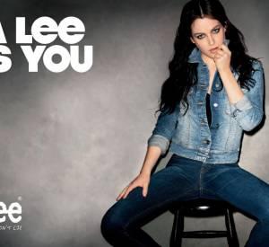 Riley Keough pour la campagne Lee, printemps-été 2011.