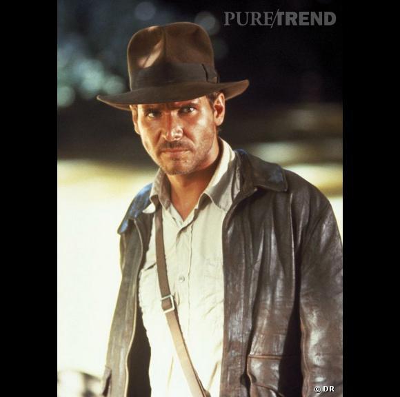 """Harrison Ford dans """"Les Aventuriers de l'Arche Perdue"""" en 1981."""