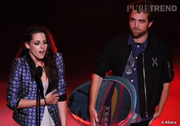 Kristen Stewart et Robert Pattinson se retrouveront côte à côte aux Teen Choice Awards dimanche 11 août.