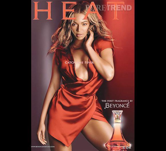 Heat est le premier parfum que Beyoncé a lancé, c'était en 2010.