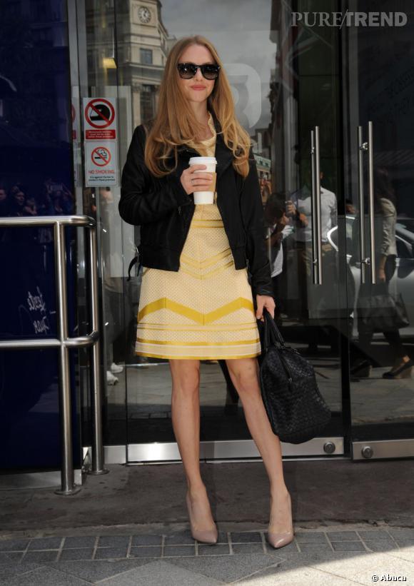 Amanda Seyfried à Londres, un magnifique rayon de soleil !