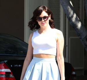 Rose McGowan : bingo, le cropped top retro... A shopper !