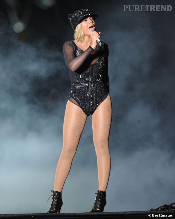 Bien sur sexy, Beyoncé a refusé de voir sa prestation retransmise à la télé.