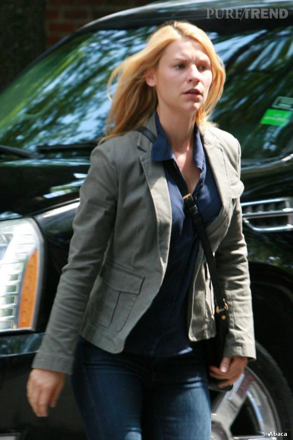 """Que serait """"Homeland"""" sans Claire Danes ? L'actrice touche 250 000 dollars par épisode."""