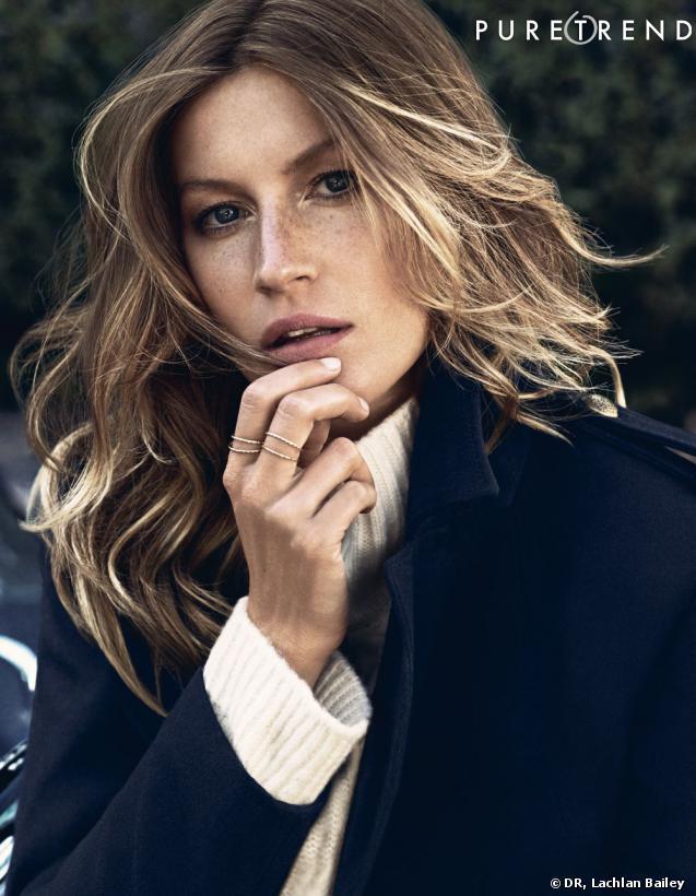 Les premiers visuels de la campagne de l'Automne 2013 d'H&M avec Gisele Bündchen viennent de tomber.