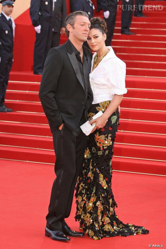 Vincent Cassel et Monica Bellucci, l\u0027un des couples stars du cinéma  français.
