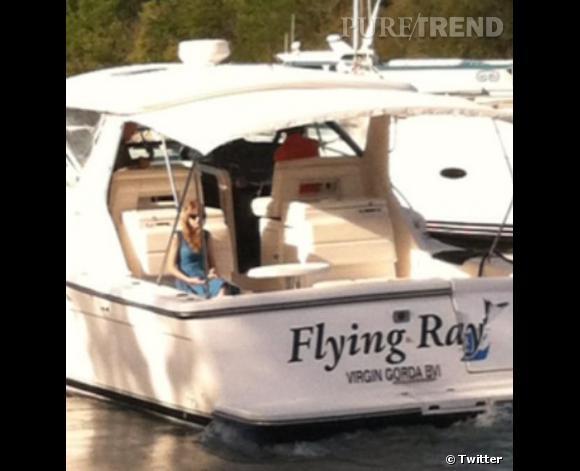 Harry Styles avait abandonné Taylor Swift sur un bateau pendant leur escapade après le nouvel an.