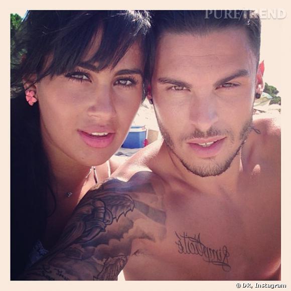 Baptiste Giabiconi a présenté Sarah sur Instagram.