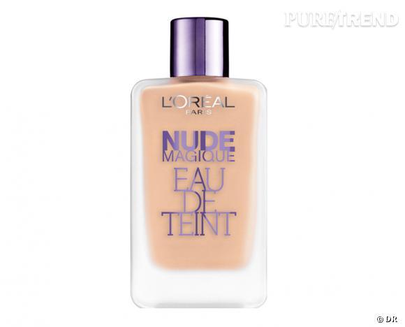 Nos must have beauté de la renrée 2013 !    Eau de teint Nude Magique, L'Oréal Paris, 14,50 € en septembre