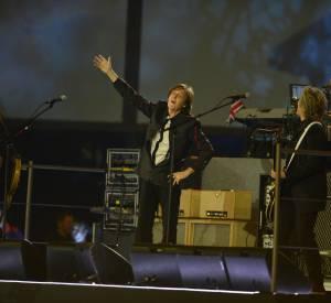 Paul McCartney lors de la cérémonie d'ouverture des JO de Londres.