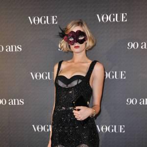 Apparition ultra-sexy pour Eva Riccobono lors de la soirée anniversaire des 90 ans de Vogue en 2010.