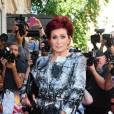 Sharon Osbourne et son éternelle chevelure rouge.