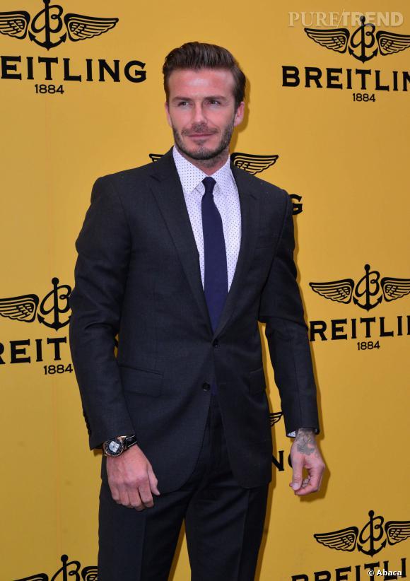 Après le foot, David Beckham se lance dans les tourtes.