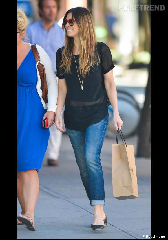 Jessica Biel, trendy et cool en même temps.