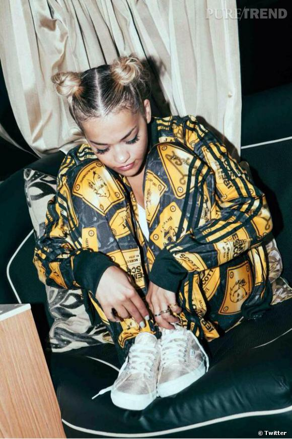 Rita Ora, le bout de chou de la Fashion Week.