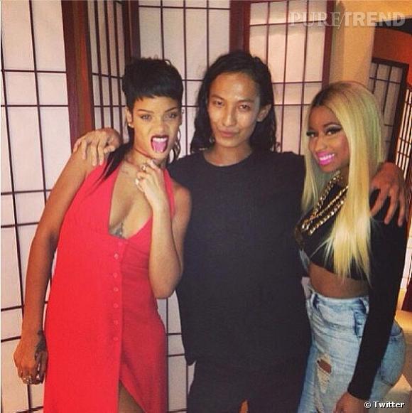 Rihanna et Nicki Minaj, les fans de la Fashion Week.