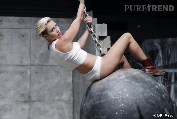 Miley Cyrus dans son nouveau clip réalisé par Terry Richardson.