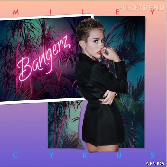 Miley Cyrus en cover de son album Bangerz.
