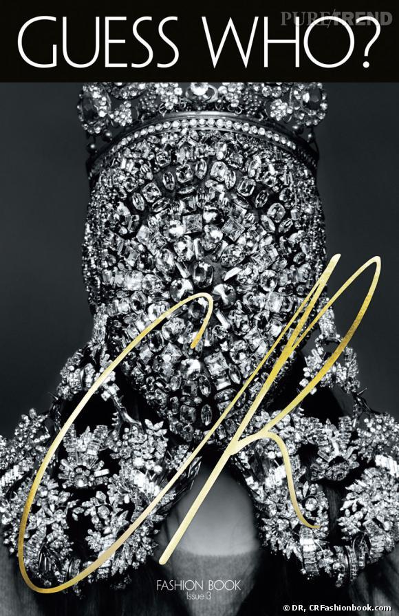 Kim Kardashian fait la couverture du troisème numéro du  CR Fashion Book .