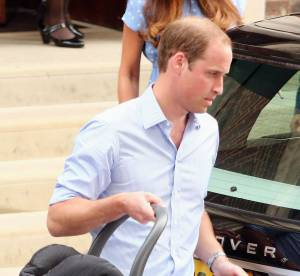 Prince William : nuits blanches et couches pleines, baby George lui mene la vie dure !