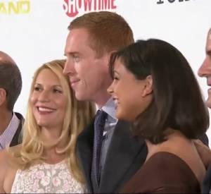 """Claire Danes et le casting de """"Homeland"""" parlent de la saison 3."""