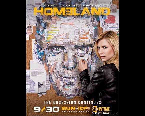 """Claire Danes, son personnage sur la sellette dans la saison 3 de """"Homeland""""."""