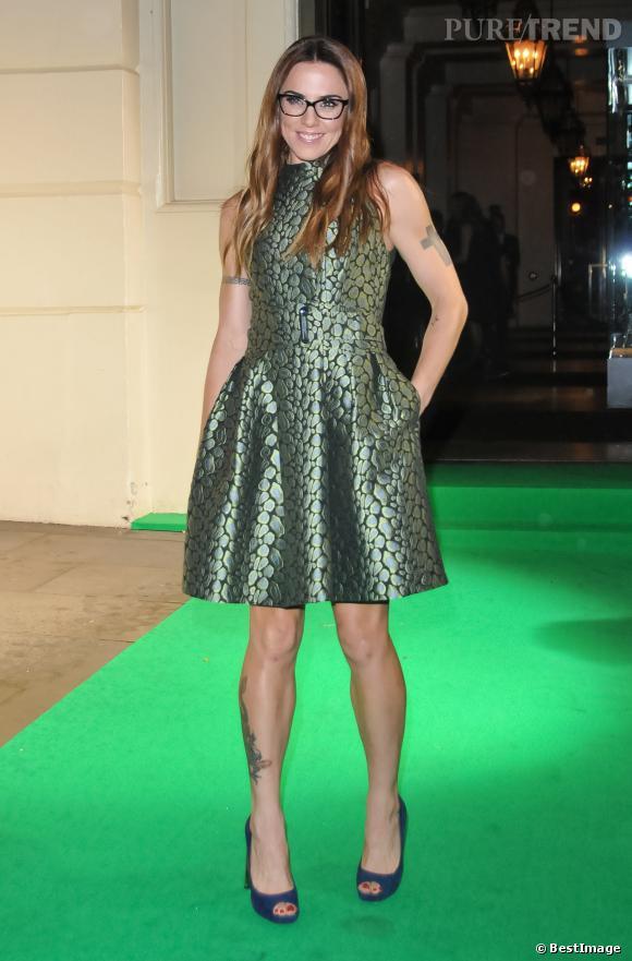 Melanie C, flop sur tapis rouge pour l'ex Spice Girls.