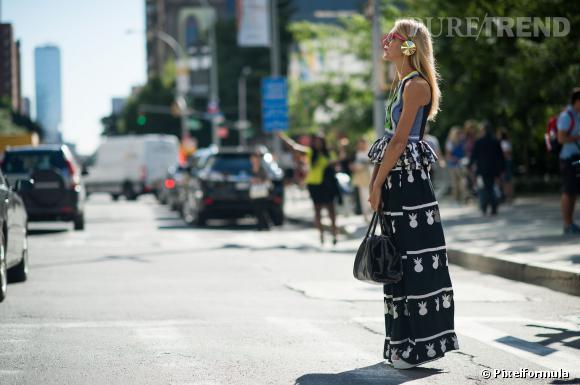 Best-of des 10 street-styles de la Fashion Week Printemps-Été 2014 de New-York.
