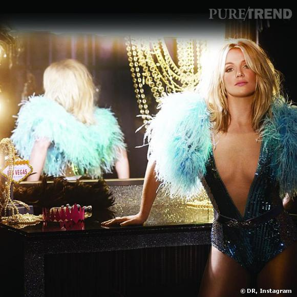 Britney Spears, un peu photoshopée sur la cover de Work bitch.
