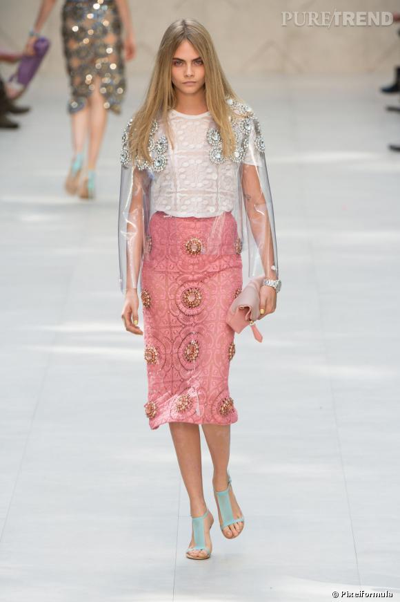 Fashion week de Londres Printemps-Eté 2014, notre best-of : défilé Burberry Prorsum