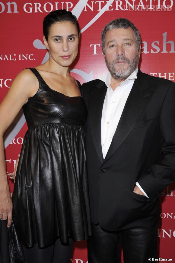 Philippe Starck et sa femme Yasmine.