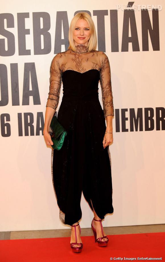 Le flop red carpet :  Naomi Watts, un look quelque peu... Gonflé.