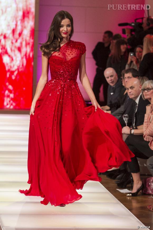 Reine des podiums, Miranda Kerr admet toutefois ques les mannequins manquent terriblement de confiance en elles.