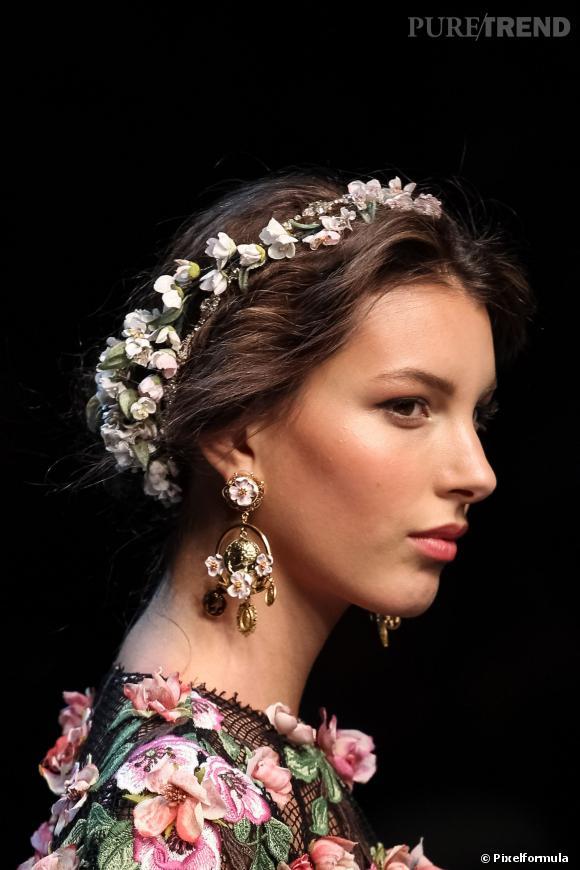 Défilé Dolce & Gabbana Printemps-Été 2014.