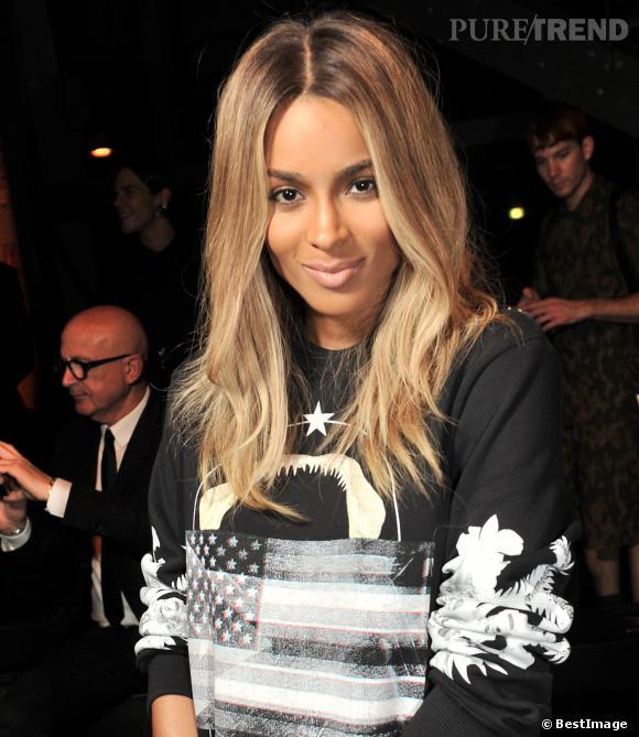 La chanteuse Ciara a craqué pour une chevelure blonde, comme Beyoncé.