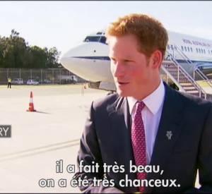 Le Prince Harry en visite officielle en Australie.