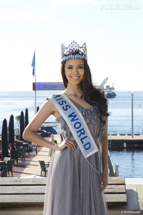 Megan Young, Miss Monde 2013 au Mipcom de Cannes.