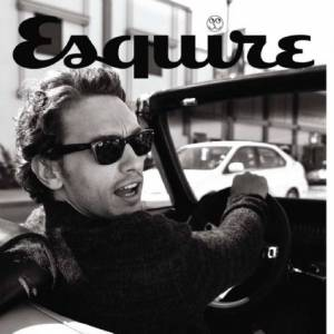 James Franco, un acteur purement hollywoodien pour Esquire.