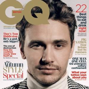 James Franco propre sur lui pour GQ UK novembre 2013.