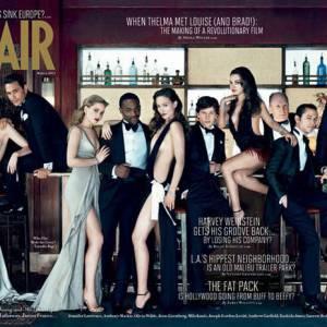 James Franco décroche la couverture de Vanity Fair numéro spécial Oscars.
