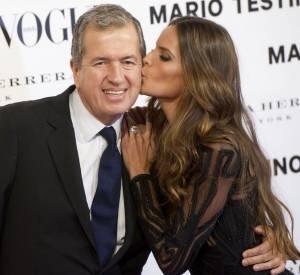 Mario Testino et Izabel Goulart.