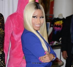 Nicki Minaj présente sa collection.