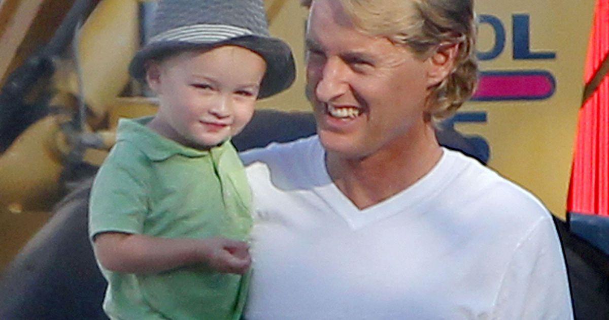 Owen wilson aussi attend son second b b apr s robert ford - Colette gaze et son bebe ...