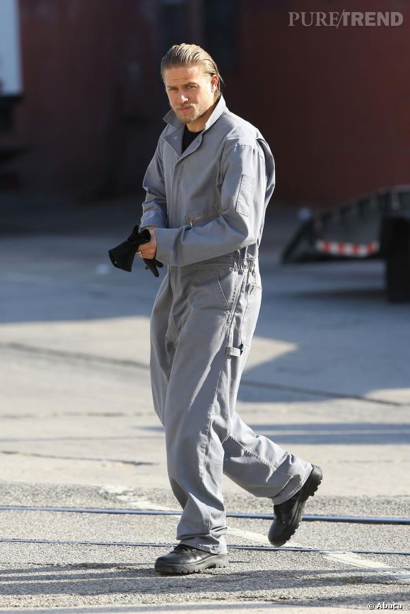 Charlie Hunnam, un acteur qui ne fait pas les choses à moitié.