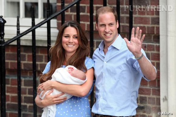 Demain, le Duc et de la Duchesse de Cambridge font baptiser leur fils, le Prince George devant des invités triés sur le volet.