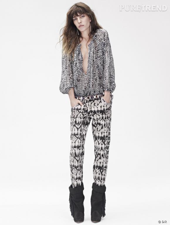 Collection Isabel Marant x H&M, disponible à partir du 14 novembre 2013